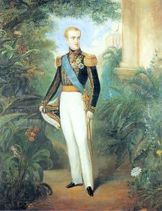 Pedro II of Brazil by Rugendas 1846
