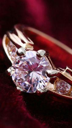 Color Rosa, Diamond Are A Girls Best Friend, Pretty In Pink, Fashion Jewelry, Fashion Accessories, Jewelery, Fine Jewelry, Amethyst, Jewelry Design
