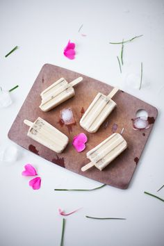 Earl Grey Popsicles with Grass Jelly | Coco Cake Land