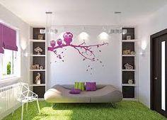 Картинки по запросу лиловый и зеленый в интерьере