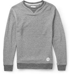 Saturdays Surf NYC Cotton-Blend Jersey Sweatshirt | MR PORTER