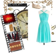 """""""glee"""" by rebe1212 ❤ liked on Polyvore"""