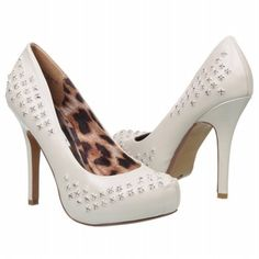 NAUGHTY MONKEY Ice Stone Shoes (Cream) - Women's Shoes - 6.5 M