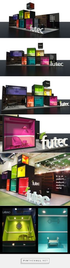 Futec Booth - Building Show Egypt 2015 @ Mental Flame on Behance - created via http://pinthemall.net