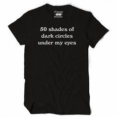 Women's 50 Shades T Shirt #goth #emo #alternative #punk #streetwear #altwear #offensive #rude #popculture #50shades #dropoutz
