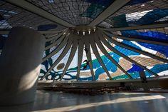 Brasilia Cathedral by Oscar Niemeyer (1907-2012)
