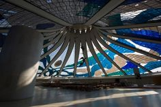 Brasilia Cathedral by Oscar Niemeyer (1907-2012)