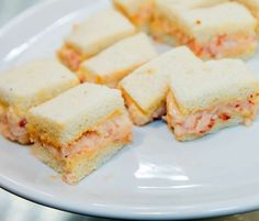 Lobster Tramezzini | Inspired by the classic Venetian tea sandwich, these tramezzini by Mark Ladner will be a hit at your next cocktail party.