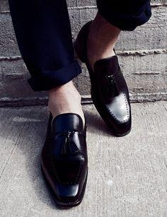 tasselled loafers