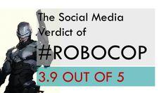 The social media verdict of #RoboCop