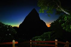 View from Hotel Chocolat #StLucia