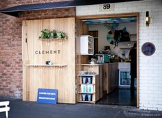 South Melbourne is becoming a mecca of good coffee. I think this brew bar serves the best coffee in the South Melbourne Market. Small Coffee Shop, Coffee Shop Design, Cafe Design, Store Design, Restaurant Bar, Modern Restaurant, Restaurant Interior Design, Deco Cafe, Coffee Places