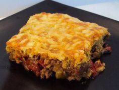 Low-Carb Tamale Pie: Low-Carb Tamale Pie