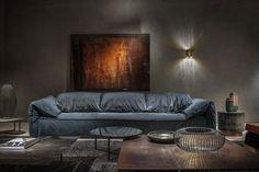 Discover Casablanca, the unique leather sofa with a contemporary personality Baxter Furniture, Art Deco Furniture, Living Furniture, Unique Furniture, Luxury Furniture, Furniture Design, Living Room Decor, Casablanca, Divani Design