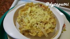 THE DYTAPUTRI: Resep MPASI : Spaghetti Pie (10m)
