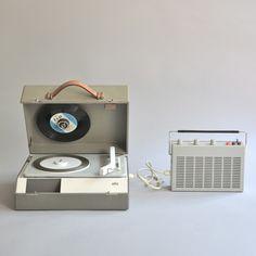 Braun electrical - Audio - Braun PCK 4 portable stereo phonograph