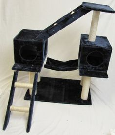"44"" New Cat Tree / Cat Condo / Cat Furniture Scratcher -Blue by generic, http://www.amazon.com/dp/B00AUYNE36/ref=cm_sw_r_pi_dp_Z8wgrb17XCVB5"