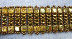 Bead Street Online: Another Tila Twin Bracelet Class