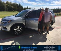 https://flic.kr/p/MJ8eJU | Congratulations Lee Ann on your #Honda #Pilot from Jim Rutelonis at Honda Cars of Rockwall! | deliverymaxx.com/DealerReviews.aspx?DealerCode=VSDF