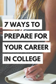 Read the advice of women who have walked in your shoes...here's some advice on how to prepare for your future career while still in college!