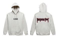 cool All Access Purpose Tour Sweater and Hoodie