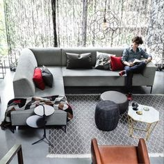 Home And Living, Living Room, Outdoor Furniture Sets, Outdoor Decor, Lounges, Sweet Home, Sofa, Flooring, Interior