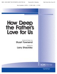 How Deep the Father's Love For Us - solo