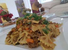 Curryrahmnudeln mit Hack, ein gutes Rezept aus der Kategorie Pasta & Nudel. Bewertungen: 431. Durchschnitt: Ø 4,2.