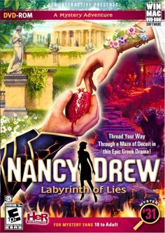 #31 NANCY DREW - LABYRINTH OF LIES DVD, Video Games :: Video Games :: Bullszi.com