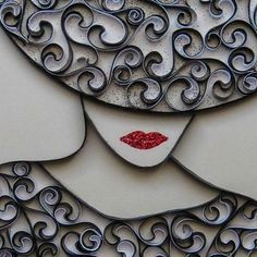 View the source image - Quilling Paper Crafts Toilet Paper Roll Art, Toilet Paper Roll Crafts, Diy Paper, Quilling Patterns, Quilling Designs, Quilling Ideas, Quilled Creations, Quilling Paper Craft, Pattern Art