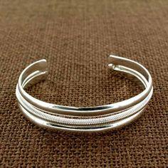 Sadie Green's Silver Cuff Bracelet