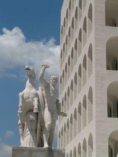 Roma - EUR Palazzo delle Civiltà