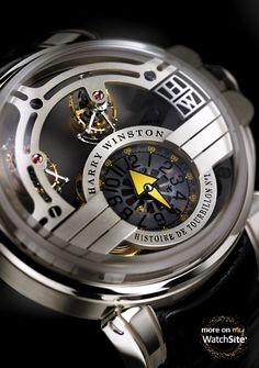 Harry Winston - Histoire de Tourbillon - 500/MMT48WZL