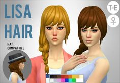 Simduction - Lisa Hair by Simduction New hair for females....