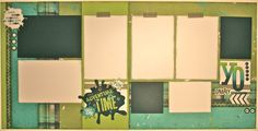 Later sk8r CTMH Scrapbook layout