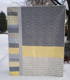 Quilt Story: Wonderful memory quilt from Nancy Noodle...