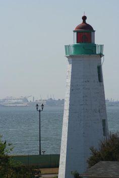 the lighthouse Ft Monroe