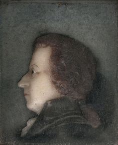 Unknown French Artist Portrait of Wolfgang Amadeus Mozart. 1778 г.