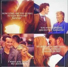 Rose and The Doctor quotes :')