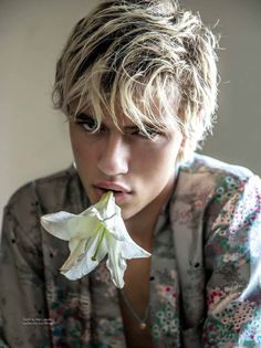 Exclusiva: Lucky Blue smith para DA MAN Magazine Spring/summer 2016 por Mitchell Nguyen McCormack
