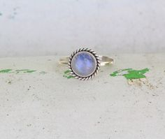 Rainbow Moonstone Simple Rope Ring, 925 Sterling Silver Gemstone Ring, Personalized, Twist, Small Ring, Stacking Ring, Womens ring by DonBiuSilver on Etsy https://www.etsy.com/listing/173650221/rainbow-moonstone-simple-rope-ring-925