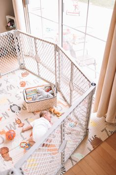 Our Most Used Baby Item (.going on 3 years now) — The Overwhelmed Mommy Baby Gate Play Area, Baby Play Yard, Baby Play Areas, Baby Safety, Child Safety, Ball Pit For Toddlers, Best Baby Play Mat, Baby Pen, Best Baby Gates