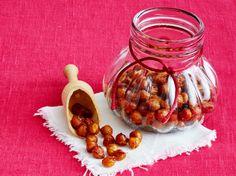 Süße Zimt-Honig-Kichererbsen