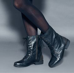 Stephenie boots @ ShoeMint! Perfect with a lacey dress;)