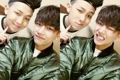 rapmon and taehyung's twitter update ♡