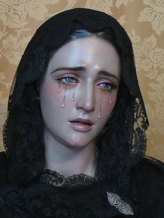 Maria Santisima De La Victoria - i feel this shows how every mother feels for the love of their children when they hurt And the experience of loss. Overwhelming and unconditional love