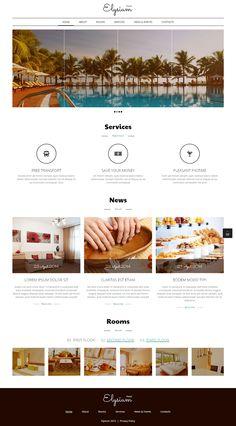 Hotel Joomla Template