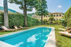 La Romantique  luxury holiday lake front villa with pool on Lake Como
