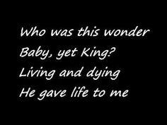 makes me cry everytime! Christmas Music, Christmas Carol, Amy Grant, Spiritual Music, The Birth Of Christ, Cry, Christian, Holidays, Songs
