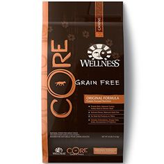 Wellness CORE Natural Grain Free Dry Dog Food Original Turkey & Chicken Recipe is healthy, natural grain free dog food for adult dogs made with turkey, Best Dog Food, Dry Dog Food, Best Dogs, Top Rated Dog Food, Top Dog Food Brands, Top Dog Foods, Can Dogs Eat Oranges, Deboned Turkey, Wellness Core